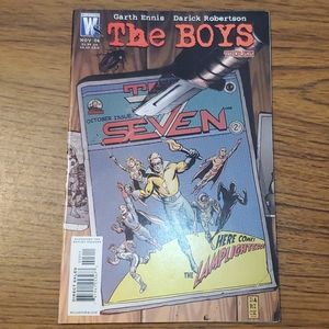 The Boys Three Comic Here Comes The Lamplighter!